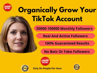 Organically Grow Your TikTok Account