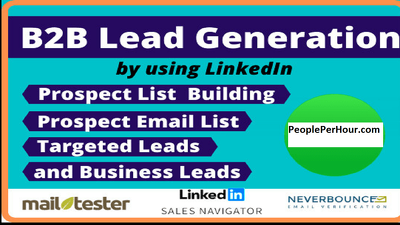 Generate 10k b2b leads for CEOs/MD/Owners/President