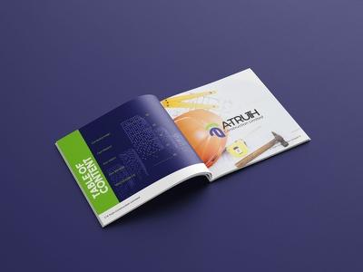 Design modern trifold brochure, bifold & flyer poster or leaflet