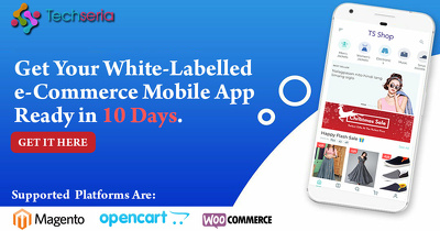Develop white-labelled e-Commerce mobile app
