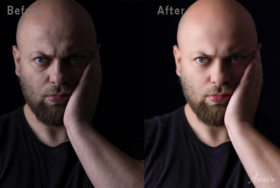 Do High end retouch for 1 image