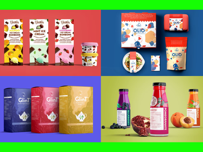 Design product packaging and labels with unlimited revisions