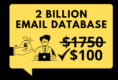 Provide 2 billion email list : usa,uk,france,australia,canada