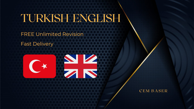 Translate TURKISH - ENGLISH up to 500 words or MORE