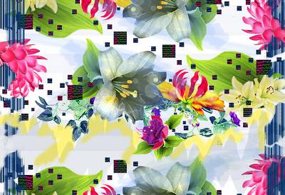 Design seamless repeated print