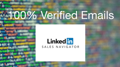 Provide targeted verified business emails in less than 24 hours