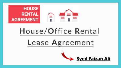 Draw up a House Rental Lease Contract