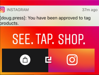 Approve Instagram for Instagram Shop product tagging