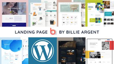 Build & Design 1 page Responsive & Fast Wordpress website