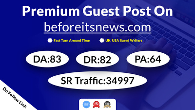 Provide You Guest Post on beforeitsnews.com