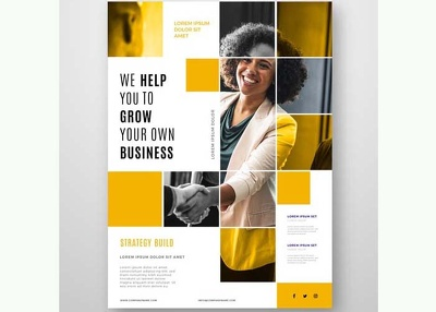 Design a flyer/brochure/leaflet/poster with unlimited revisions