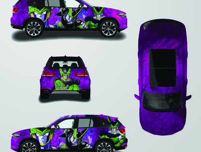 Design car wrap, van wrap, truck wrap or any vehicle wrap