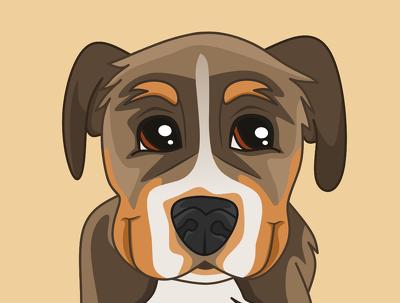 Awesome cartoon pet portrait