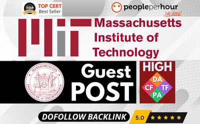 ★ Write & Publish EDU Post + Backlink on MIT ★