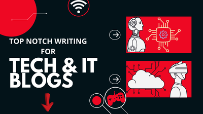 Write 1000 word technical articles for Tech and IT Blogs