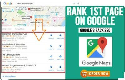 Google My Business  maps local seo optimisation