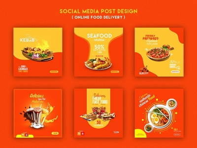 Design Social Media 3 to 4 Eye Catching Post+Unlimited Revisions