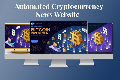 Create autopilot cryptocurrency news wordpress website