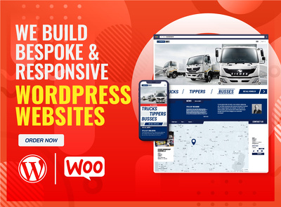 Design and develop bespoke and responsive WordPress website