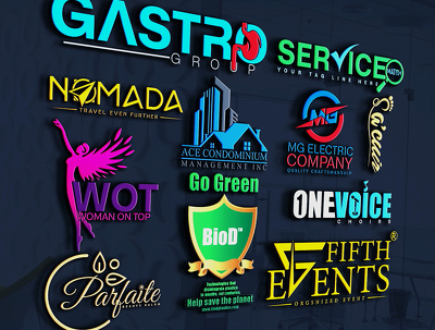 Design Professional And Modern Logo (4 initial concept )