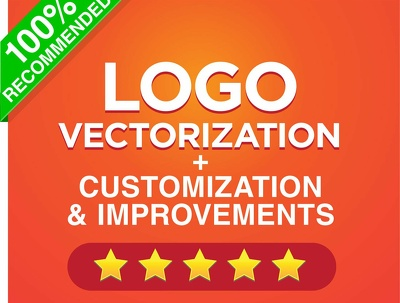 Logo Vectorization, Customization And Improvements