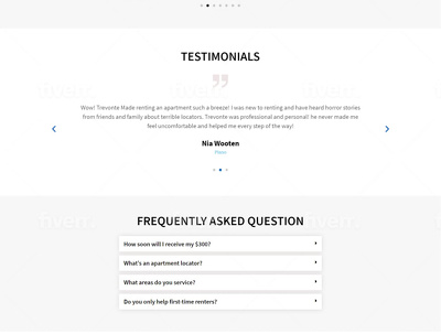 Build landing page using shopify, unbounce or wordpress