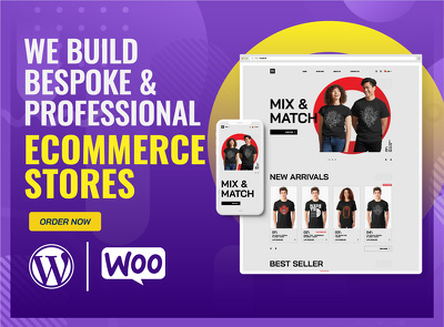 Build bespoke & professional E-Commerce website or online store