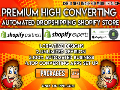 Create 7 figure high converting dropshipping shopify store