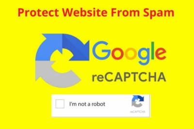 Add or fix google recaptcha on your wordpress website