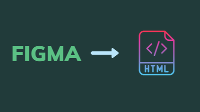 Convert FIGMA to HTML 1 page (responsive)