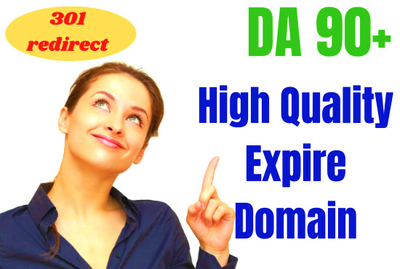 Offer 3 High Quality Expired Domains for 301 Redirect