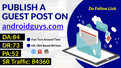 Provide Guest Post On androidguys.com