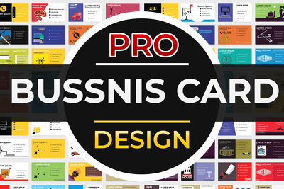 Create a professional business card design
