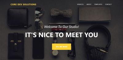 Create a bespoke website