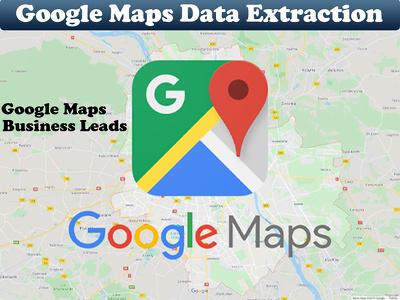 Scrape google maps business data, lead generation