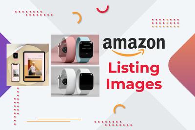 Design unique amazon listing images for amazon store