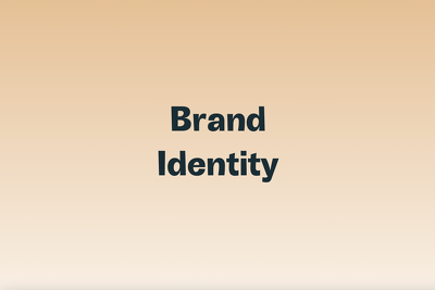 Create a visual identity for your brand