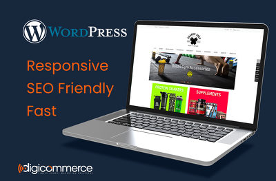 Develop a Responsive, SEO Friendly 5 Page WooCommerce Website
