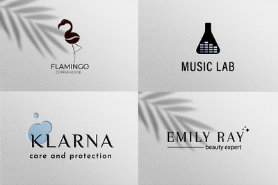 Professional logo design + social media version + source files