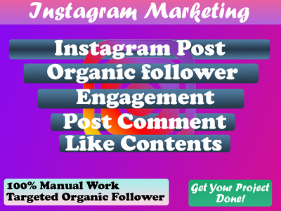 Organically manage and grow your Instagram