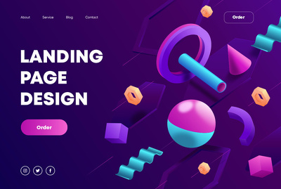 Landing page design that sells