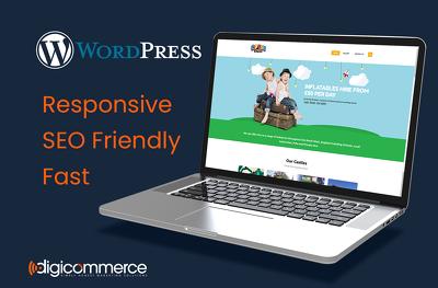 Design & Develop SEO friendly, 5 Page WordPress website