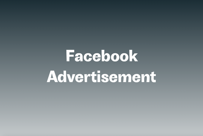 Set up a Facebook advertisement campaign