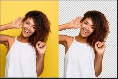 Background remove / replace clipping path 1- 70 images