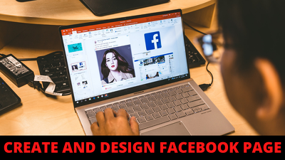 Design and create Facebook business page fast