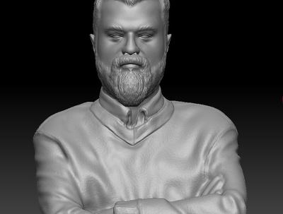 Covert 2D images to 3D a live character for 3D printing