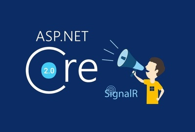 Integrate signalr in your asp dot net application