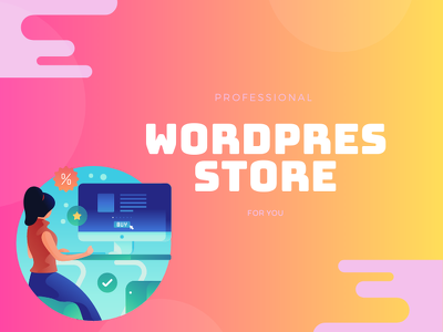 Develop wordpress ecommerce store website with woocommerce shop