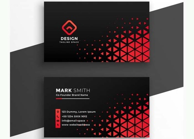 Design you a professional and personalized business card