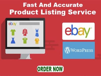 Do WordPress or eBay product listing